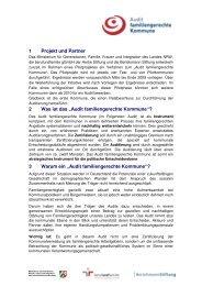 """""""Audit familiengerechte Kommune""""?"""