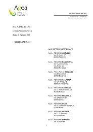 Circolare n. 31 del 07/06/2011 di AGEA - Regione Marche