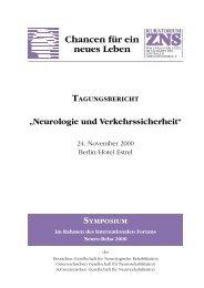 TAGUNGSBERICHT - Hannelore Kohl Stiftung