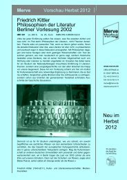 Friedrich Kittler Philosophien der Literatur Berliner Vorlesung 2002 ...