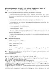 "Kommentarer vedørende lærebogen: ""Basal og klinisk farmakologi ..."