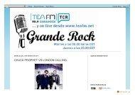 radiogranderock.blogspot.com.es-2011-01-chuck ... - SALA LÓPEZ