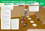 squash - Rollers & grabbers - School Games