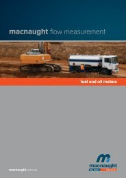 Macnaught Fuel and Oil meters - Comaccal