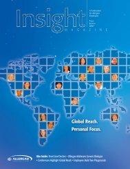 intains Global Reach, Personal Focus - Allergan
