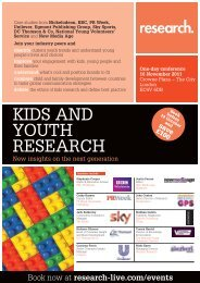 Download the programme - Research-live.com