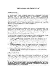 Electromagnetismo: Electrostática - DTIC