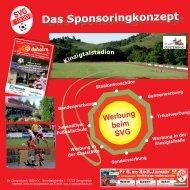 auch das Sponsoring-Konzept als pdf - SV Gengenbach