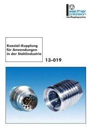 Koaxial-Kupplung für Anwendungen in der Stahlindustrie - Carl Kurt ...