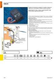 RMUN Variatore di velocità per ventilatori - Relco