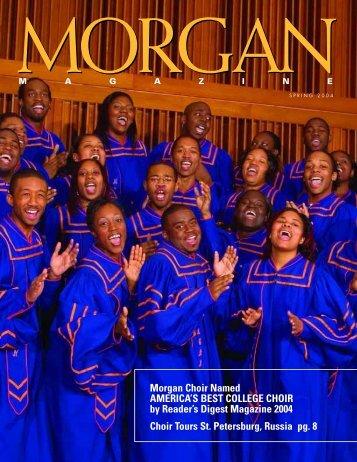 Morgan Choir Named AMERICA'S BEST COLLEGE CHOIR by ...