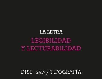 Presetación_Legibilidad y lecturabilidad - designblog