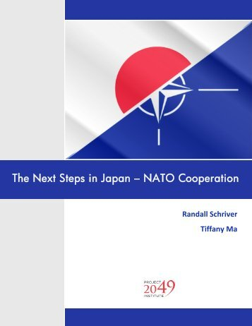 The Next Steps in Japan - NATO Cooperation - Project 2049 Institute