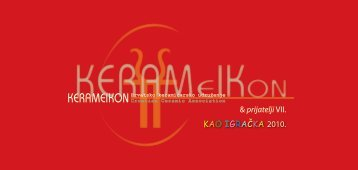 Pozivnica na izložbu KAO IGRAČKA - Kerameikon