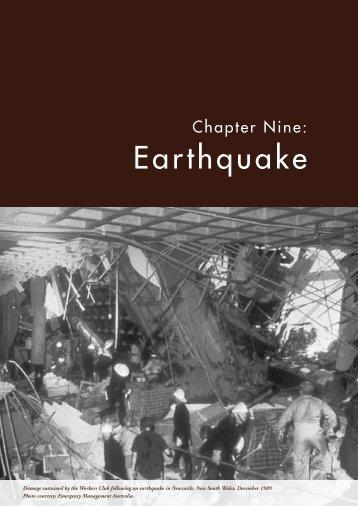Earthquake - Geoscience Australia