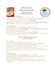 Directions to Beaverdam Park - Gloucester County Virginia
