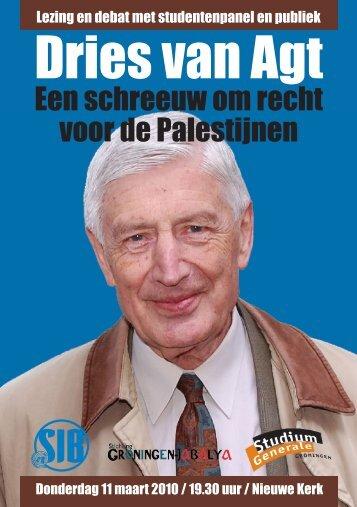 flyer - Nederlands Palestina Komitee