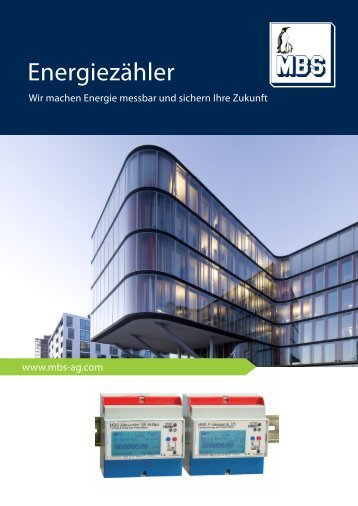 Energiezähler - Mbs-ag.com