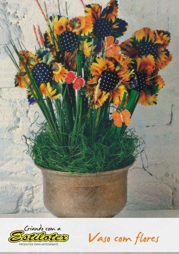 Vaso com Flores - Estilotex