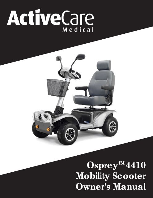 Owners Manual - Drive Medical