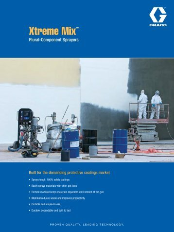 Xtreme Mix™ - Spray Tech Systems Inc.