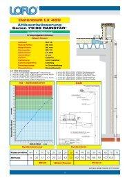 Datenblatt LX 460 - Loro
