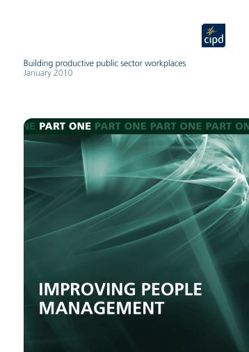 ImprovIng people management - CIPD