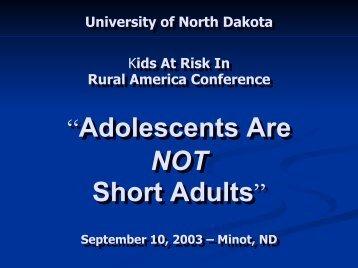 PPT - University of North Dakota