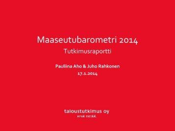 Maaseutubarometri_2014_LOPPURAPORTTI