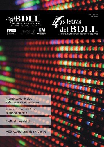 boletín informativo del barrio de las letras. Volumen 9, Marzo 2010