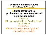 Caso di Francesco 2a parte - Università degli Studi della ...
