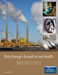 dirty energy's assault on our health: mercury - ChemicalRight2Know