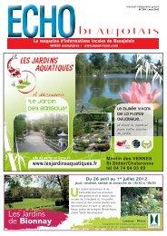 Les Jardins de Bionnay - OUEST LYON et ECHO BEAUJOLAIS