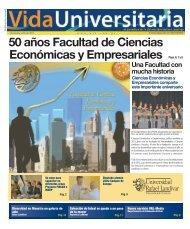 50 años Facultad de Ciencias Económicas y Empresariales Págs. 6 ...