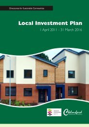 Local Investment Plan 2011 - Chelmsford Borough Council