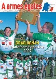 Draguignan Plate-forme sportive 2009 - La fédération des Clubs de ...