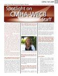 Fall 2009 Issue 2 - Canadian Mental Health Association - Page 5