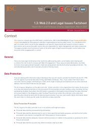Web 2.0 and Legal Issues - Strategic Content Alliance blog