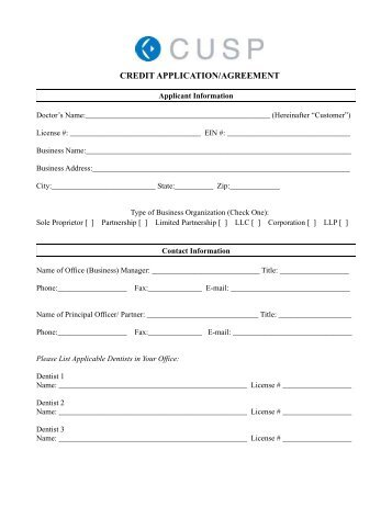 Application Agreement Form In Respect Of Lt Industrial Category