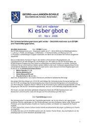 Holzmindener Kiesbergboten - BBS-Holzminden