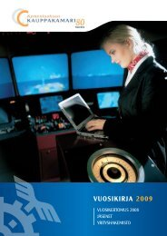 Vuosikirja 2009 - Kymenlaakson kauppakamari