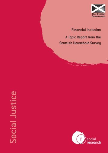 Financial Inclusion - Scottish Government