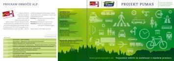PROJEKT PUMAS - Alpine Space Programme