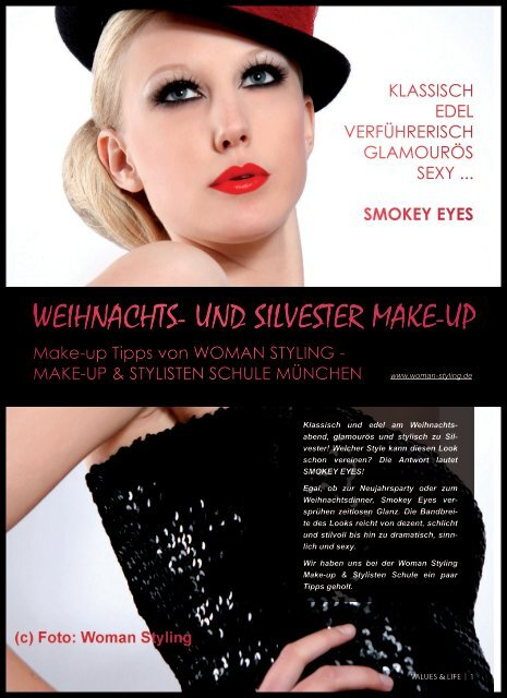 Weihnachts- und silvester Make-up - Values & Life