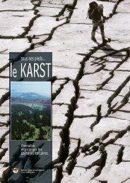 Sous nos pieds... le karst - Société Suisse de Spéléologie