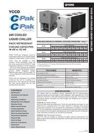 yccd air cooled liquid chiller