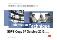 Information SSPS Cugy 07 Octobre 2010by Freddy Zbinden - VBSF