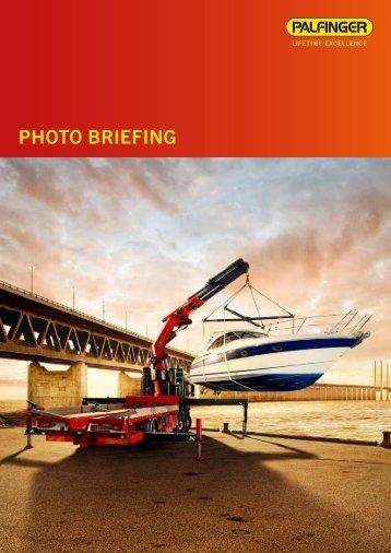 Fotobriefing - Extranet - Palfinger