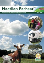Maatilan Parhaat info 3 / 2007 - Snellman