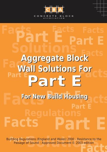 5652 Part E Leaflet - Concrete Block Association